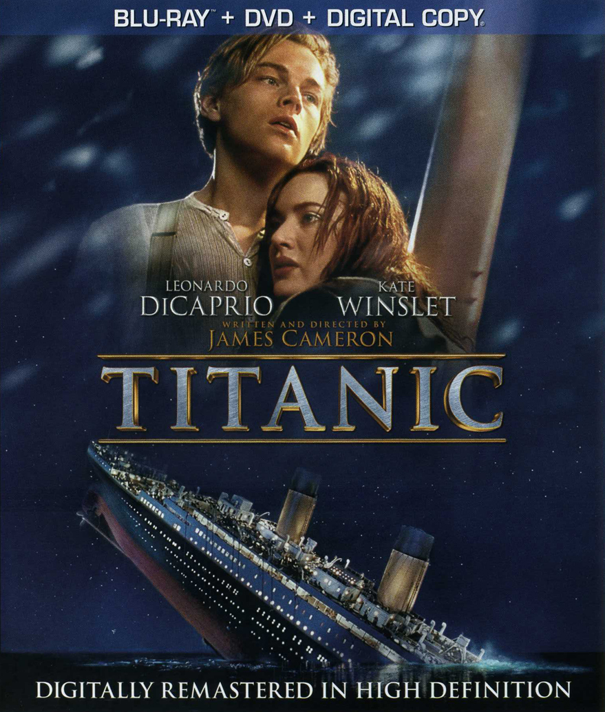 Which Titanic cover do you prefer? - Page 3 - Blu-ray Forum