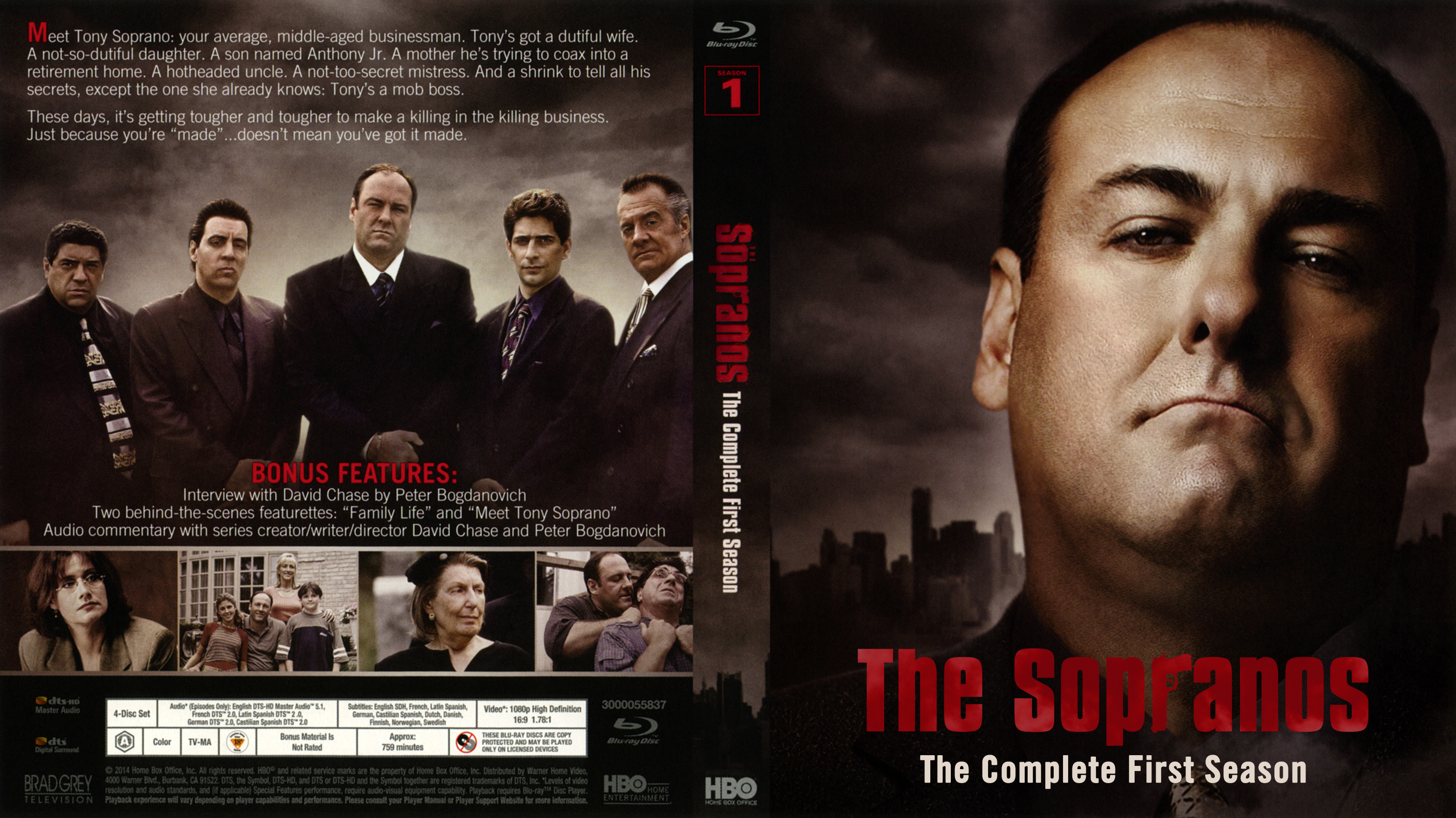 The Sopranos: The Complete Series (1999-2007) - Page 60 - Blu-ray Forum