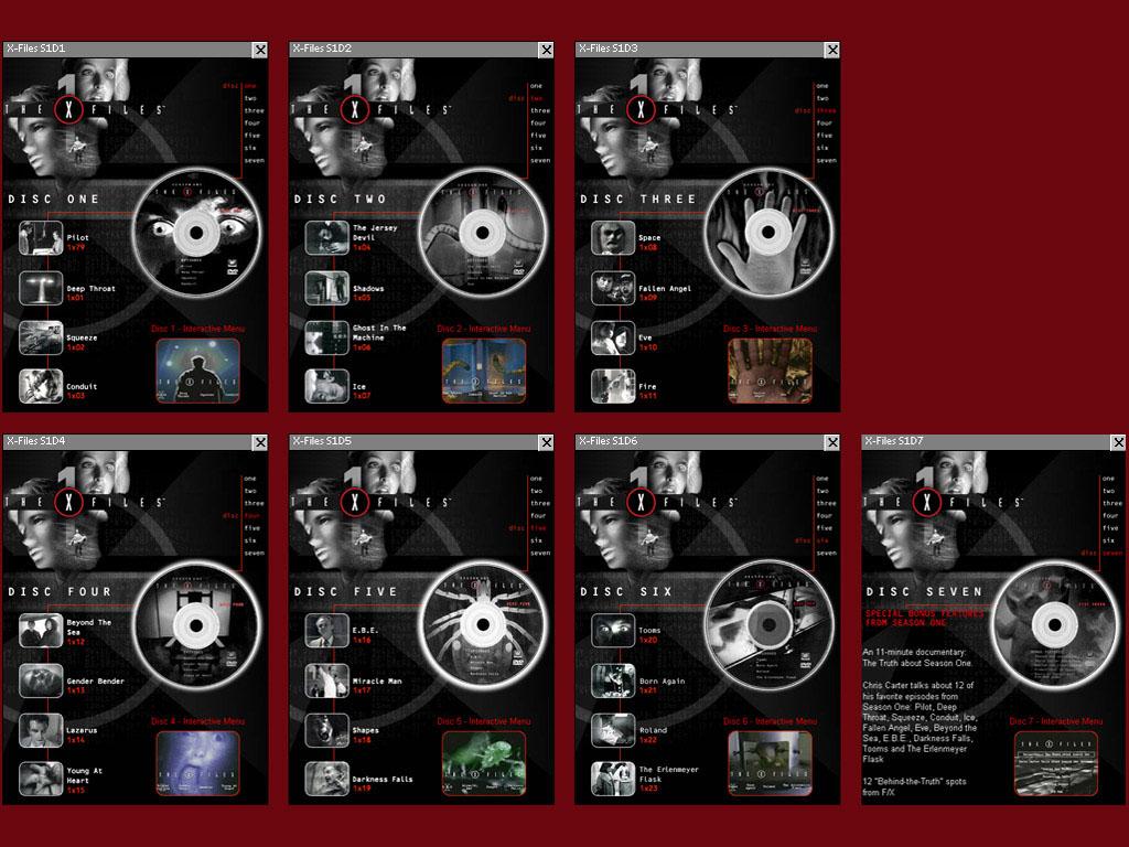 RC: X-Files Seasons 1-9 (DVD Submenus) *Updated*